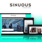 Responsive Website Redesign for Sinuous Magazine
