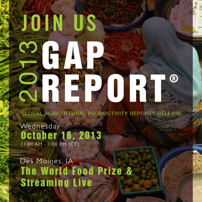 2013 Ag Report Promotion for Social