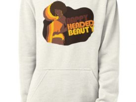 """Nappy Headed Beauty"" Pullover Hoodies"