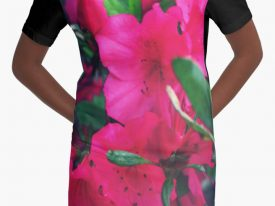 """Bloom"" Graphic T-Shirt Dress"