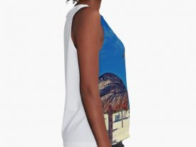 """Nappy Headed Beauty"" Flowy Crop Tank Top"