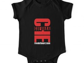 """Che Guevara: Revolutionary Icon"" Baby Onesie (Short Sleeve)"