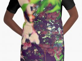 """Evidence of Spring"" Graphic T-Shirt Dress"