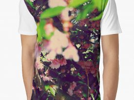 """Evidence of Spring"" Men's Graphic T-Shirt"