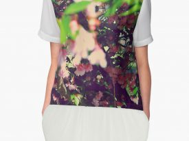 """Evidence of Spring"" Women's Chiffon Top"