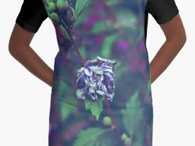 """In My Father's Garden II"" Graphic T-Shirt Dress"