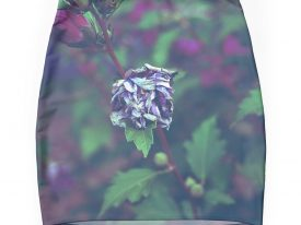 """In My Father's Garden II"" Mini Skirt"