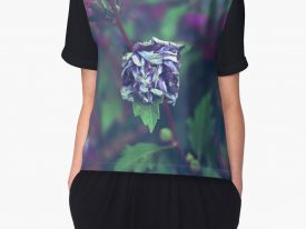 """In My Father's Garden II"" Women's Chiffon Top"