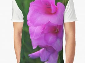 """In My Father's Garden IV"" Men's Graphic T-Shirt"