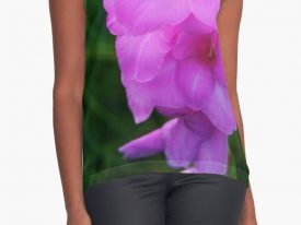 """In My Father's Garden IV"" Women's Contrast Tank"