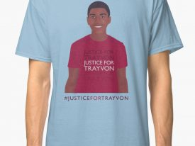"""Justice For Trayvon"" Men's Graphic T-Shirt"
