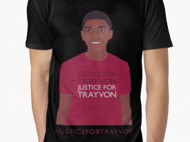 """""""Justice For Trayvon"""" Men's Graphic T-Shirt"""
