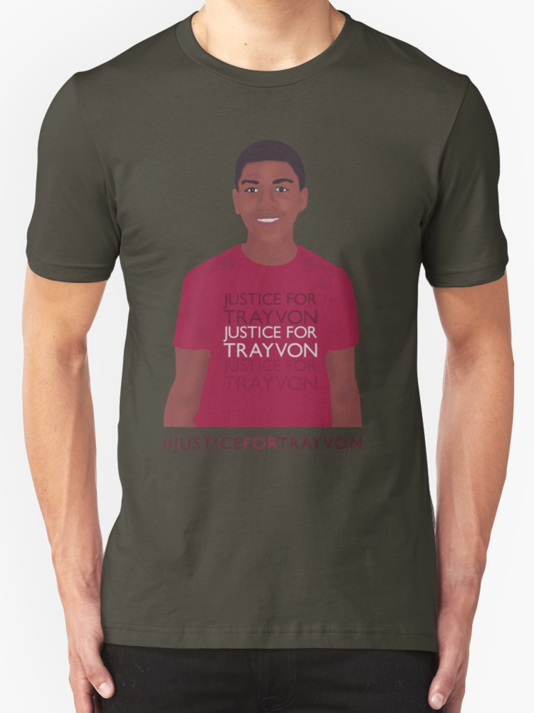 Justice for Trayvon - Unisex T-Shirt, Army