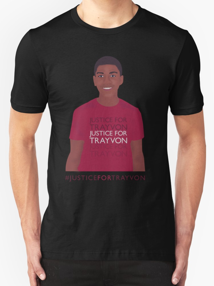 Justice for Trayvon - Unisex T-Shirt, Black