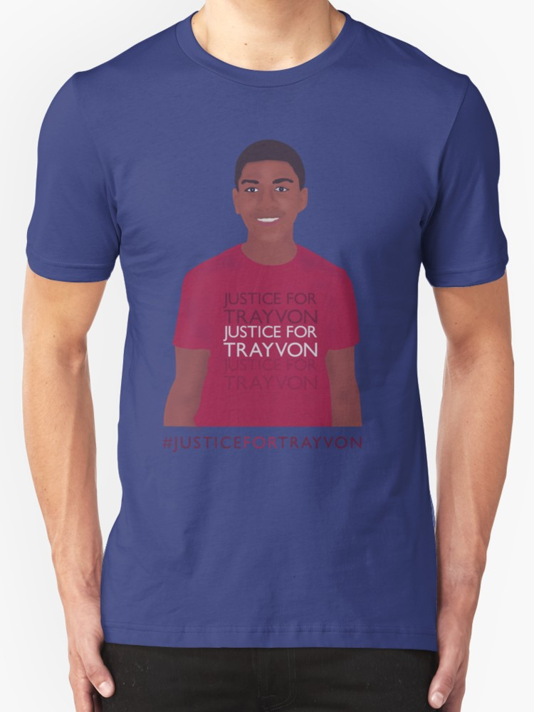 Justice for Trayvon - Unisex T-Shirt, Blue