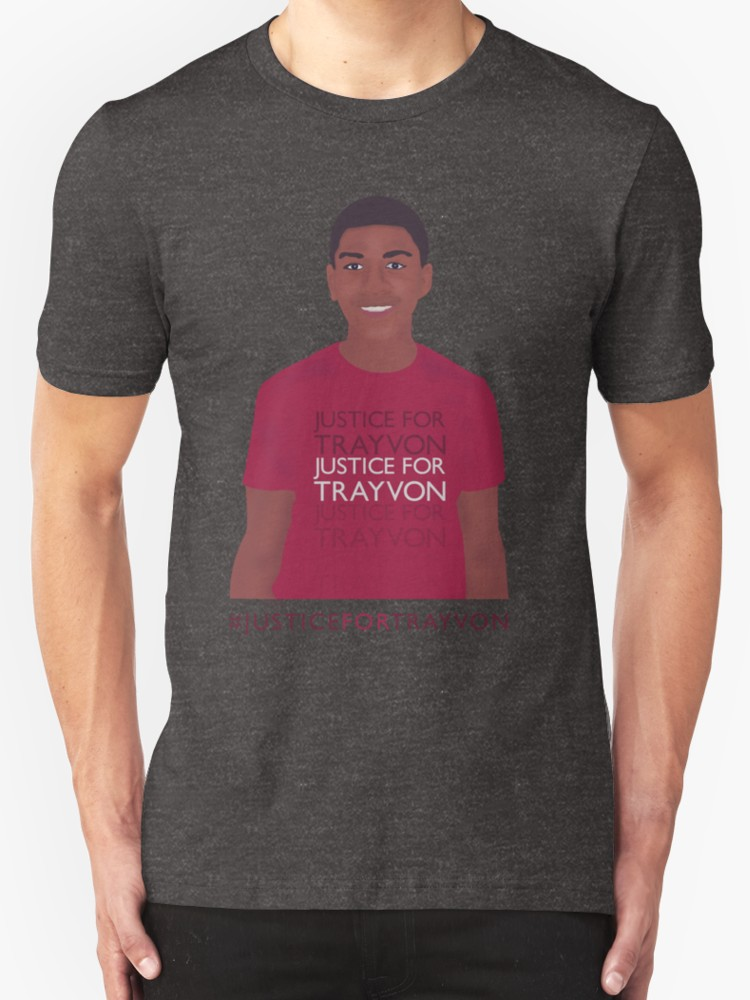 Justice for Trayvon - Unisex T-Shirt, Charcoal Heather