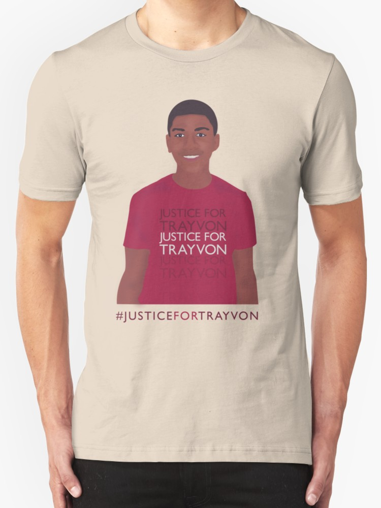 Justice for Trayvon - Unisex T-Shirt, Creme