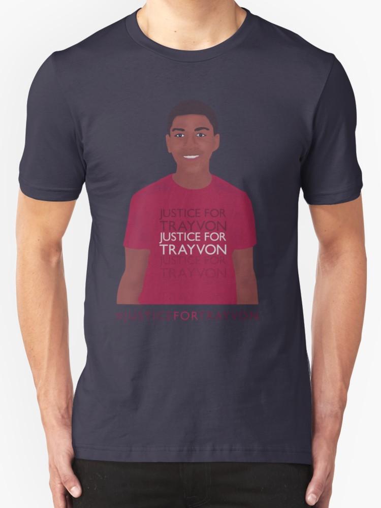 Justice for Trayvon - Unisex T-Shirt, Dark Blue