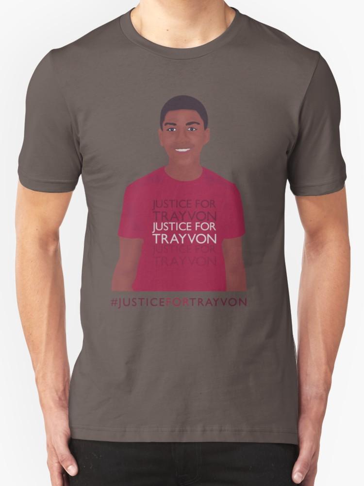 Justice for Trayvon - Unisex T-Shirt, Dark Grey