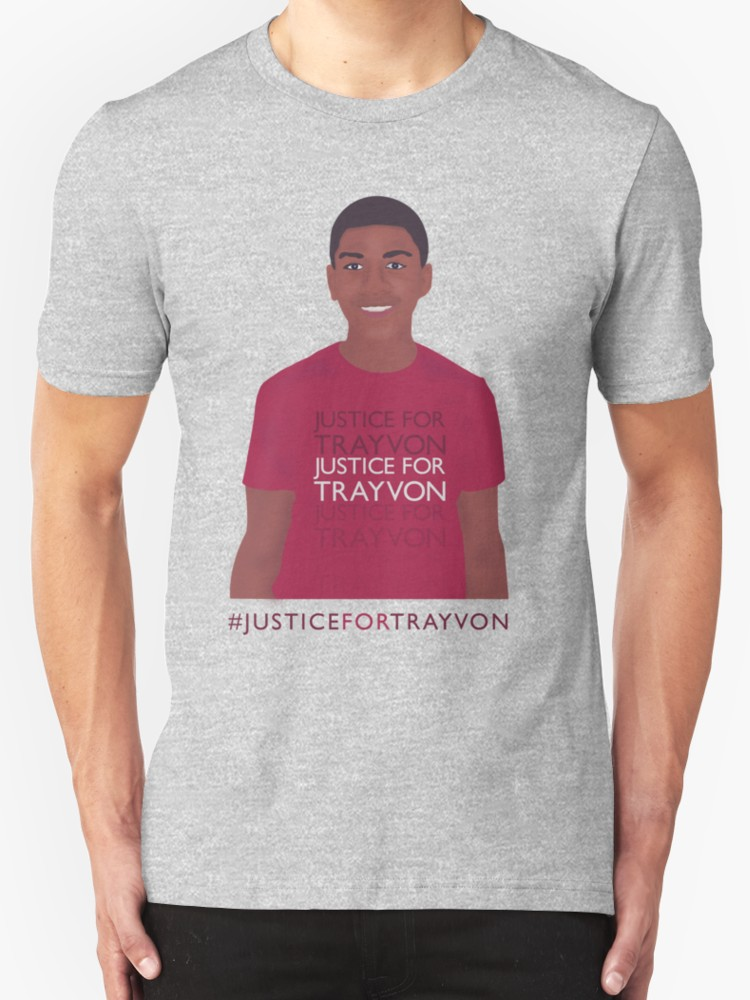 Justice for Trayvon - Unisex T-Shirt, Heather Grey