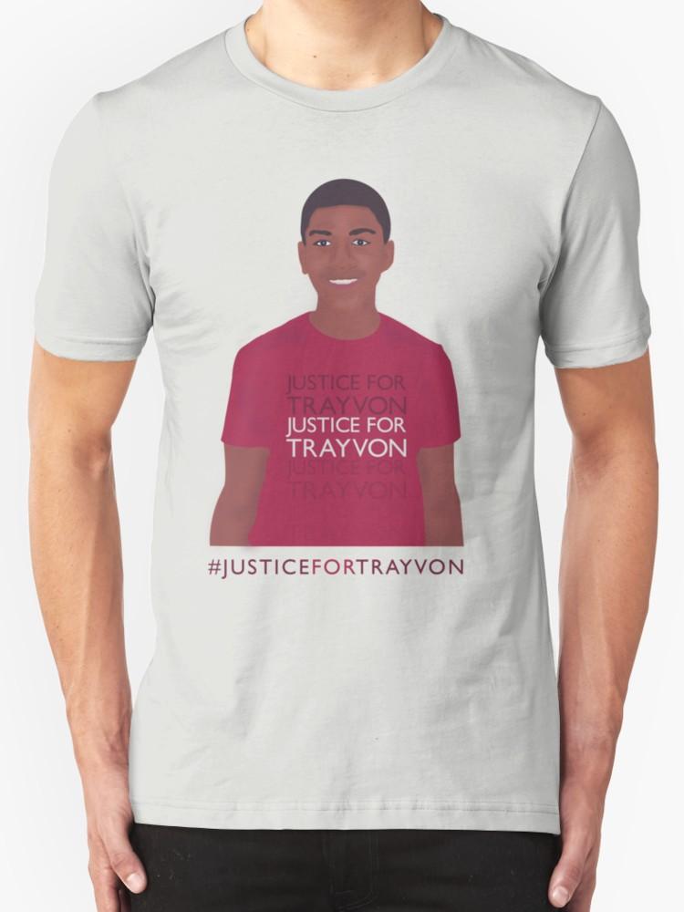 Justice for Trayvon - Unisex T-Shirt, Light Grey