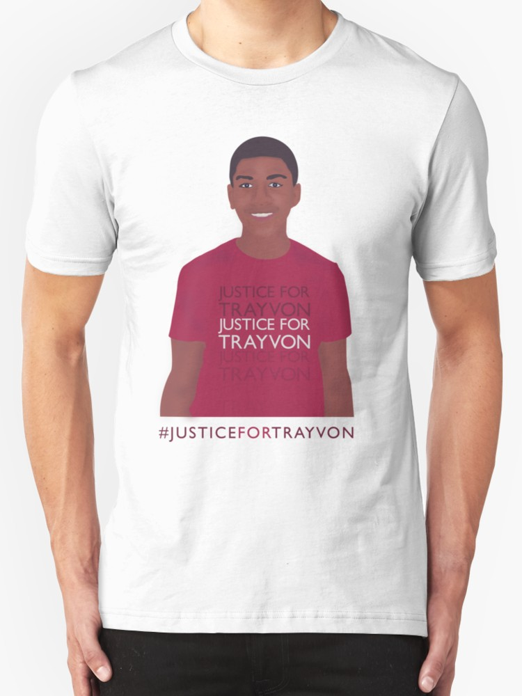 Justice for Trayvon - Unisex T-Shirt, White