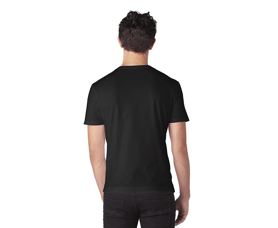 Men's Graphic T-Shirt - Back (Black)