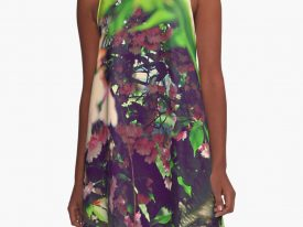 """Evidence of Spring"" A-Line Dress"