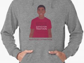 """Justice For Trayvon"" Lightweight Hoodies"