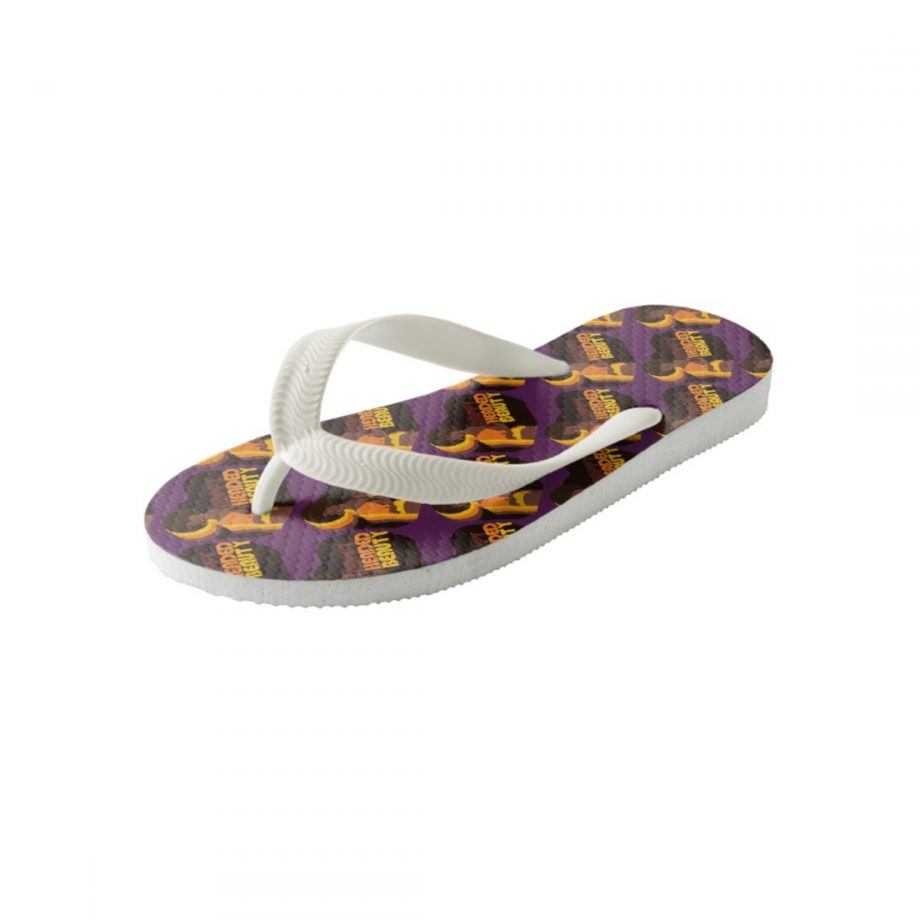 Nappy Headed Beauty - Flip Flops (Kids) - Side