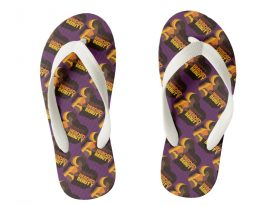 """Nappy Headed Beauty"" Flip Flops (Kid's)"