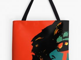 """tears keep rolling down…"" Tote Bags"