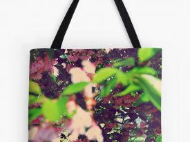 """Evidence of Spring"" Tote Bags"