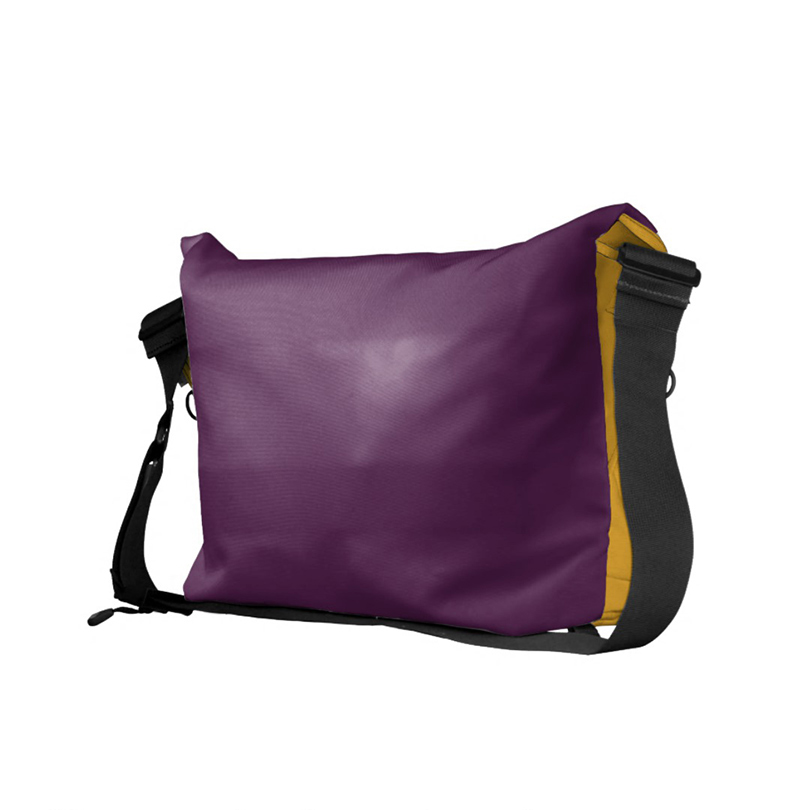 Nappy Headed Beauty - Large Messenger Bag (Back)