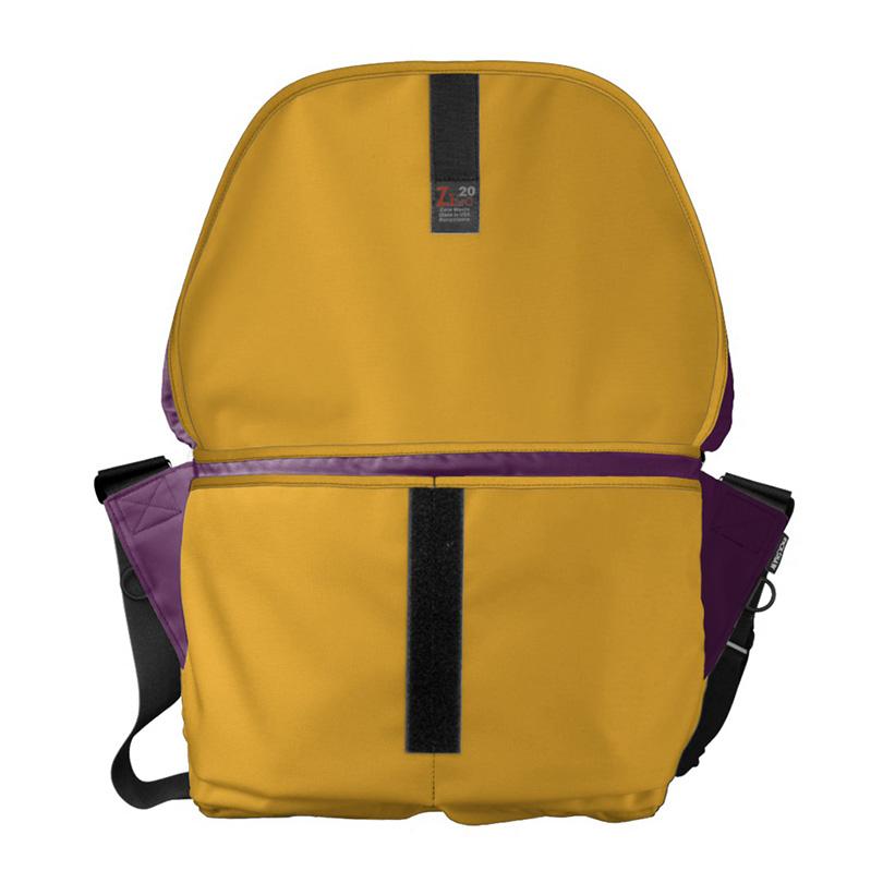 Nappy Headed Beauty - Large Messenger Bag (Open)
