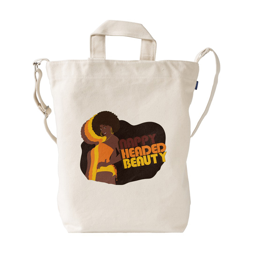 Nappy Headed Beauty x BAGGU Duck Bag, Canvas