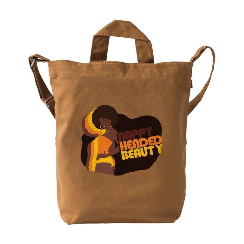Nappy Headed Beauty x BAGGU Duck Bag, Chestnut