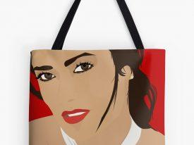 """Salma"" Tote Bags"