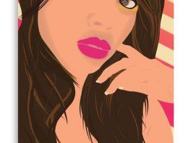 """""""Arielle"""" Canvas Prints"""