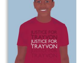 """Justice For Trayvon"" Canvas Prints"