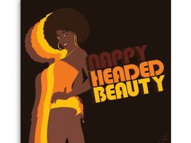 """Nappy Headed Beauty"" Canvas Prints"