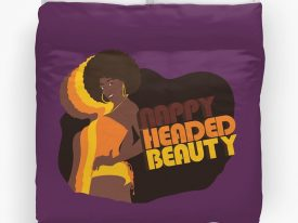 """Nappy Headed Beauty"" Duvet Covers"