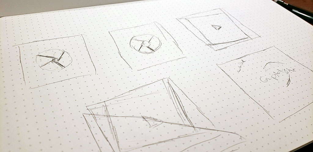Diversity & Inclusion Social Media Campaign Concept Sketch